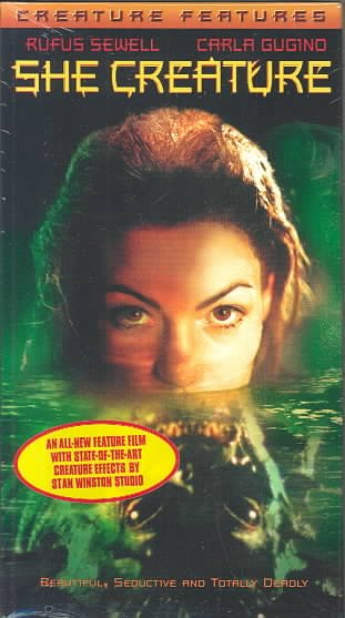 She Creature [VHS] cover