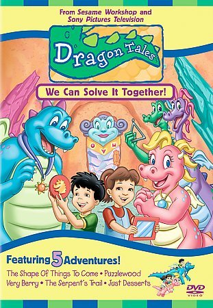 Dragon Tales - We Can Solve It Together cover