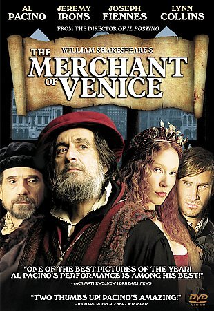 William Shakespeare's The Merchant of Venice cover
