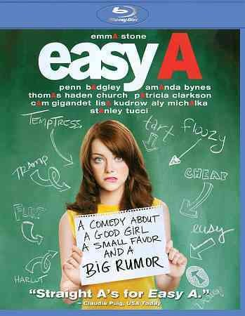 Easy A [Blu-ray] cover