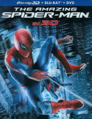 The Amazing Spider-Man (Four-Disc Combo: Blu-ray 3D/Blu-ray/DVD + UltraViolet Digital Copy) cover