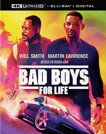 Bad Boys for Life [Blu-ray] cover