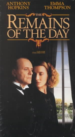 Remains of the Day [VHS] cover