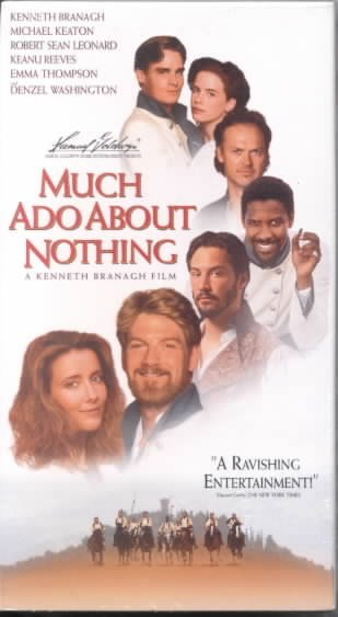 Much Ado About Nothing [VHS] cover