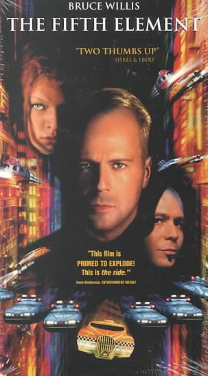 Fifth Element [VHS] cover