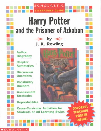 Harry Potter and the Prisoner of Azkaban Literature Guide (Scholastic Literature Guides) cover