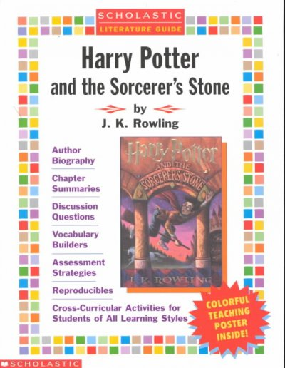 Harry Potter and the Sorcerer's Stone (Scholastic Literature Guides (Harry Potter)) cover