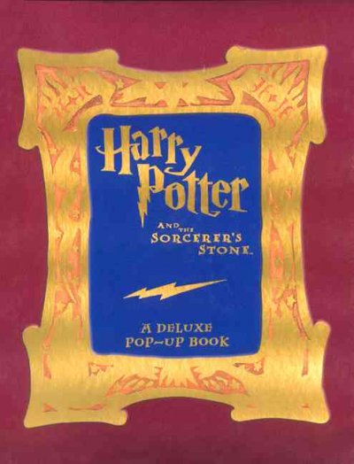 Harry Potter and the Sorcerer's Stone: A Deluxe Pop-up Book cover