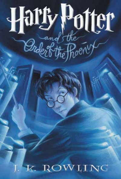 Harry Potter and the Order of the Phoenix (Book 5) cover