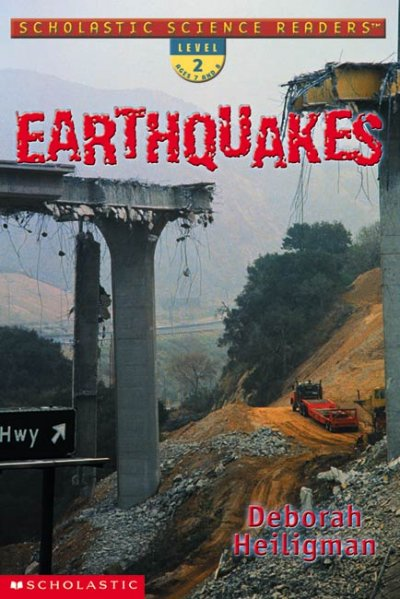 Earthquakes (Scholastic Science Readers, Level 2) cover