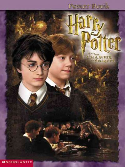 Harry Potter and the Chamber of Secrets- Poster Book cover