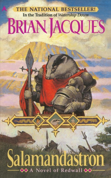 Salamandastron: A Novel of Redwall cover