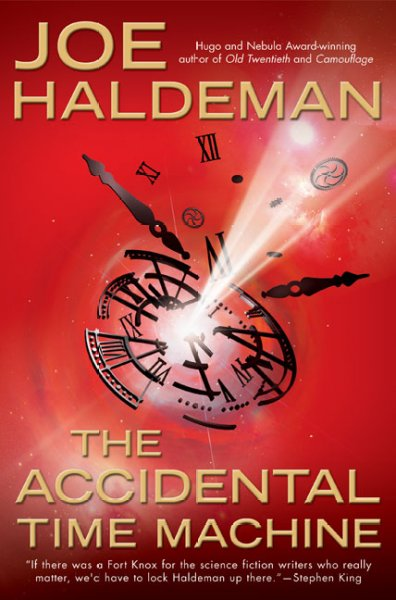 The Accidental Time Machine cover