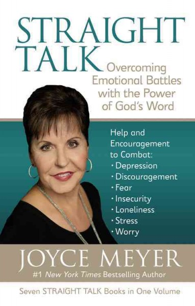 Straight Talk: Overcoming Emotional Battles with the Power of God's Word cover