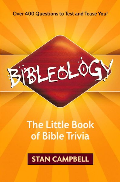Bibleology: The Little Book of Bible Trivia cover