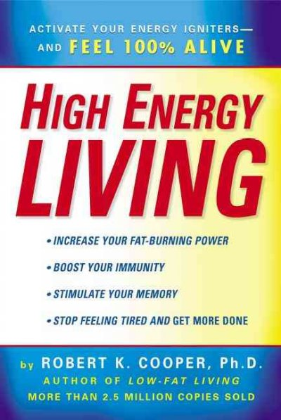 High Energy Living cover