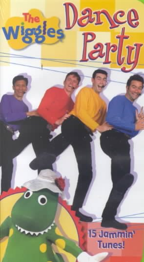 The Wiggles - Dance Party [VHS] cover