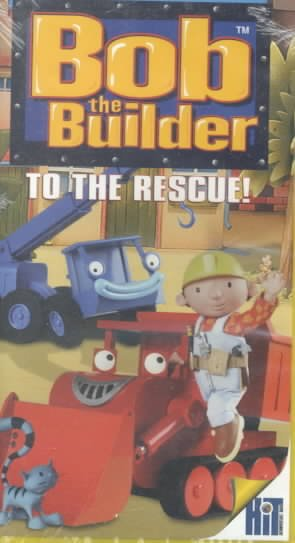 Bob The Builder - To the Rescue! [VHS] cover
