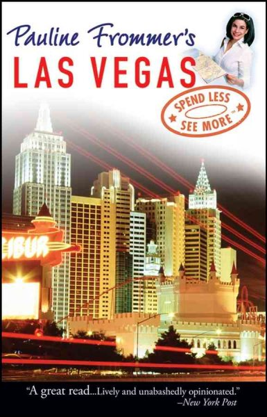 Pauline Frommer's Las Vegas (Pauline Frommer Guides) cover