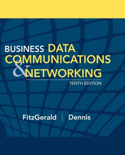 Business Data Communications and Networking cover