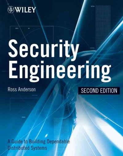Security Engineering: A Guide to Building Dependable Distributed Systems cover