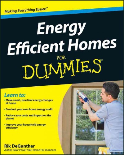Energy Efficient Homes For Dummies cover