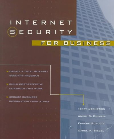 Internet Security for Business cover