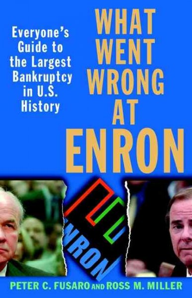 What Went Wrong at Enron: Everyone's Guide to the Largest Bankruptcy in U.S. History cover