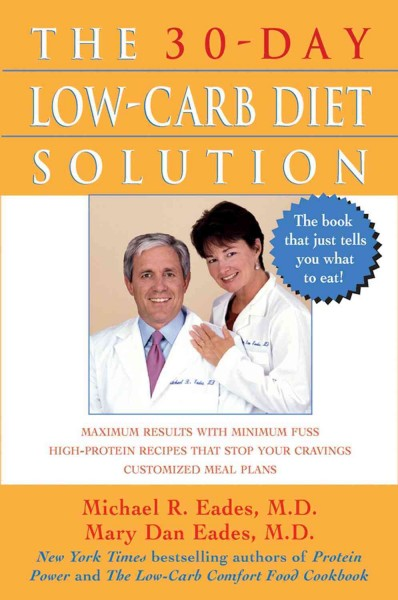The 30-Day Low-Carb Diet Solution cover