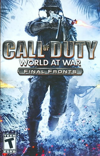 Call of Duty: World at War Final Fronts - PlayStation 2 cover