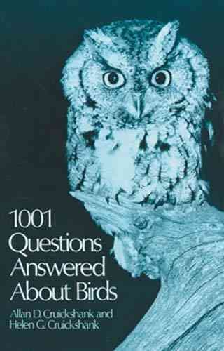 1001 Questions Answered About Birds cover