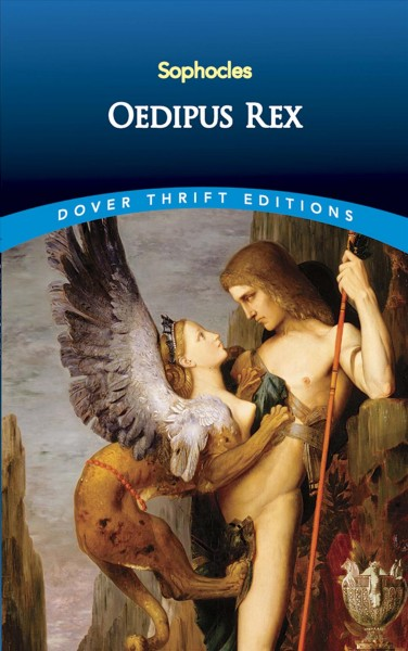 Oedipus Rex (Dover Thrift Editions) cover
