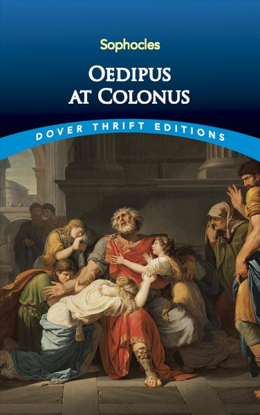 Oedipus at Colonus (Dover Thrift Editions) cover