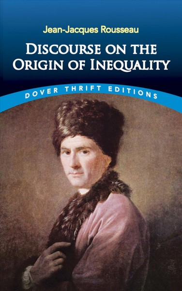 Discourse on the Origin of Inequality (Dover Thrift Editions) cover