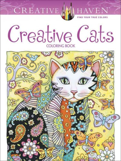 Creative Haven Creative Cats Coloring Book (Adult Coloring) cover