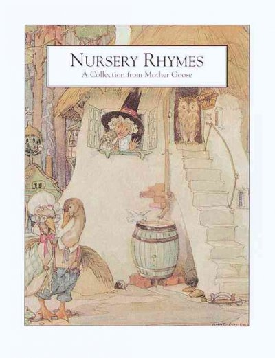 Nursery Rhymes: A Collection from Mother Goose (Illustrated Library for Child.) cover