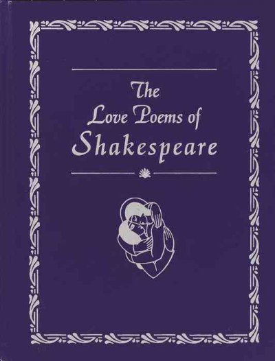 The Love Poems of Shakespeare cover