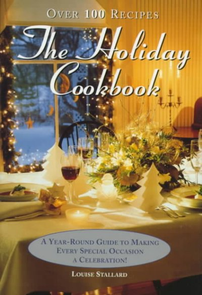 The Holiday Cookbook cover