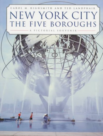 New York City: The Five Boroughs: A Pictorial Souvenir cover