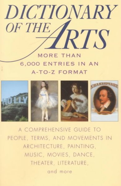 Dictionary of the Arts cover