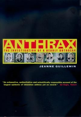 Anthrax: The Investigation of a Deadly Outbreak cover