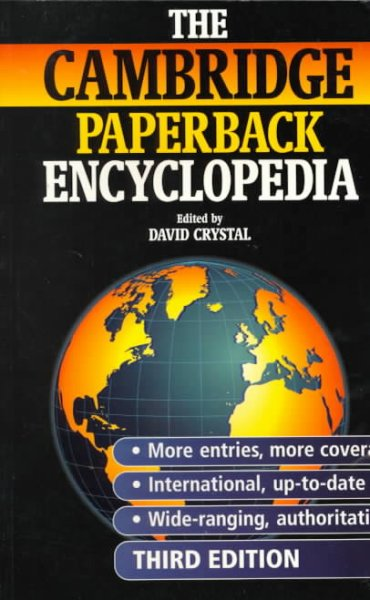 The Cambridge Paperback Encyclopedia cover