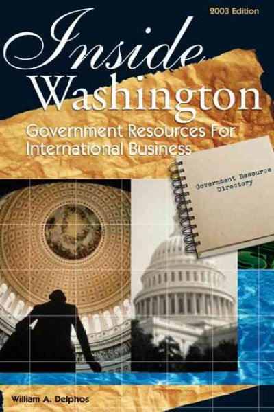 Inside Washington: Government Resources for International Business cover