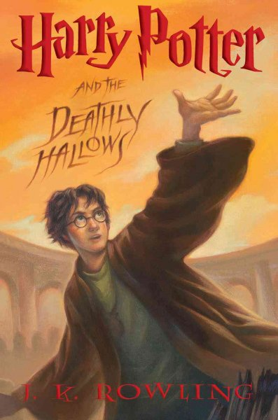 Harry Potter and the Deathly Hallows (Book 7) cover