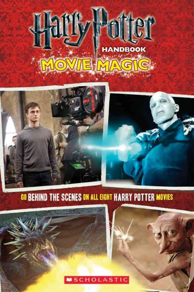 Harry Potter Handbook: Movie Magic (Harry Potter Movie Tie-In) cover
