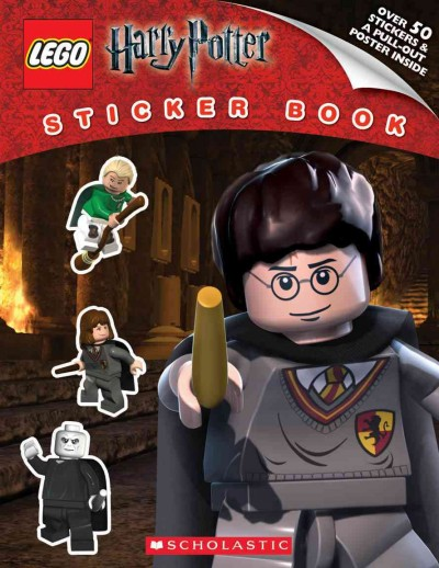 LEGO Harry Potter: Sticker Book cover