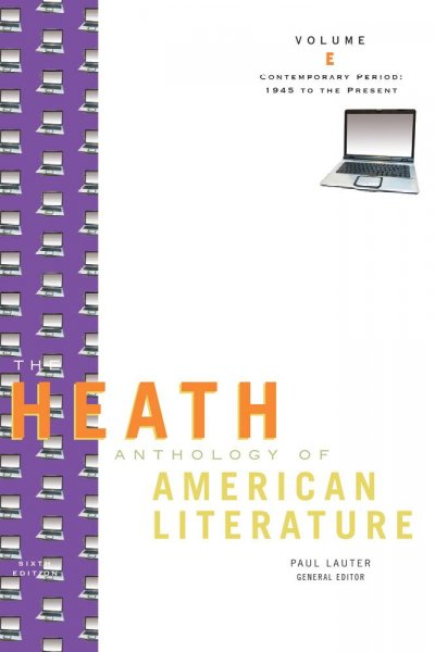 The Heath Anthology of American Literature: Contemporary Period (1945 To The Present), Volume E (Heath Anthologies) cover