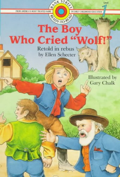 The Boy Who Cried Wolf (Bank Street Ready-to-Read, Level 1) cover