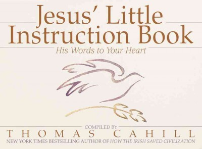 Jesus' Little Instruction Book: His Words to Your Heart cover