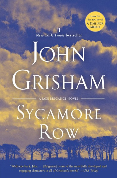 Sycamore Row: A Novel (Jake Brigance) cover
